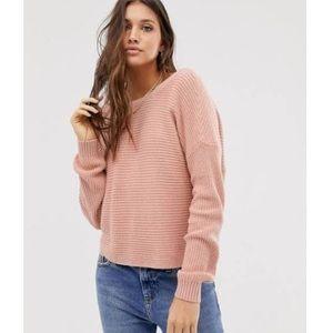 Hollister Reversible Twist Sweater